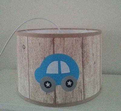 Hippe hanglamp BRroem aqua steigerhout