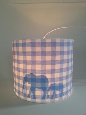 Hanglamp Safari BB lichtblauw