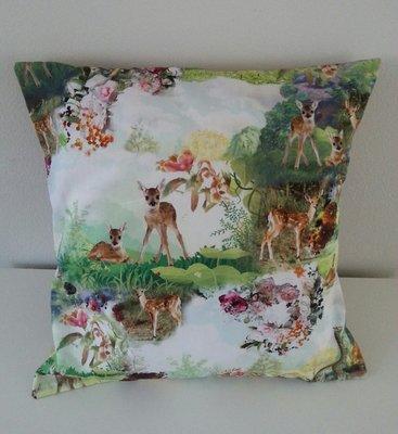 Kussen digitale print Bambi