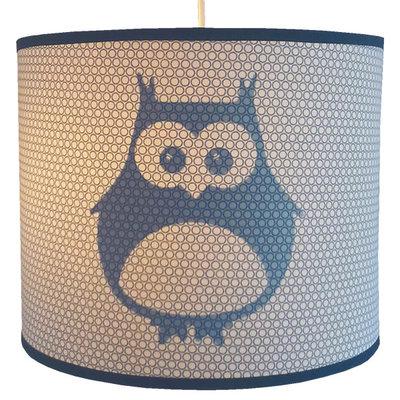 Hanglamp Uil blauw