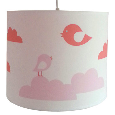 Lamp wolken & Vogels