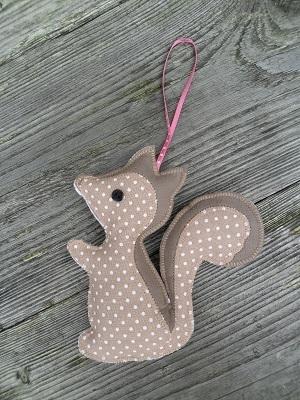 Hippe hanger Eekhoorn