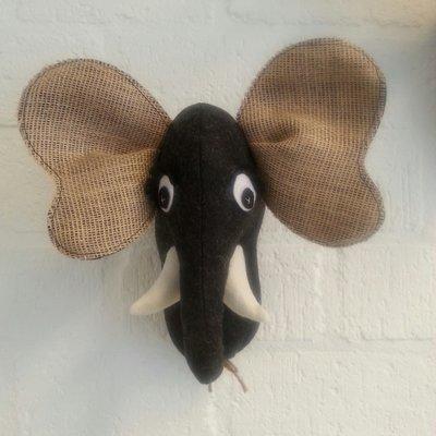 Olifanten kop Vilt
