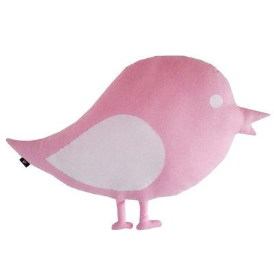 Kussen Vogel-roze