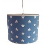 Hanglamp Ster blauw