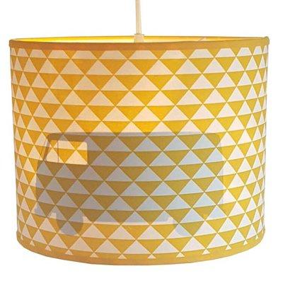 Hanglamp Silhoutte Busje Retro geel