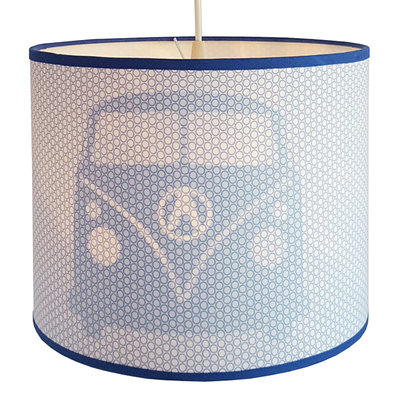 Hanglamp Busje retro blauw