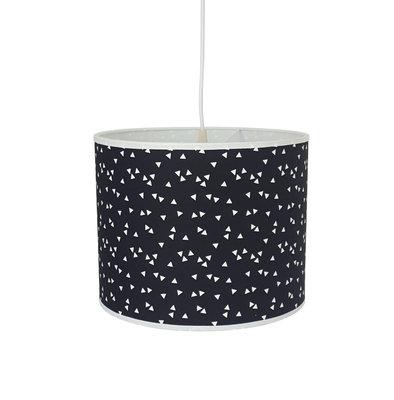 Hanglamp Zwart driehoekjes