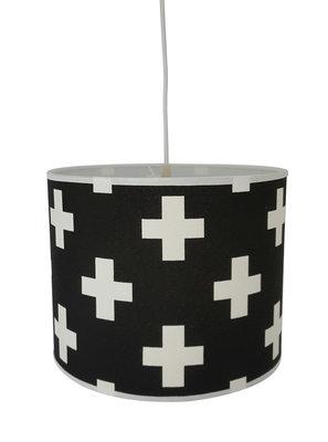 Hanglamp Plusje zwart