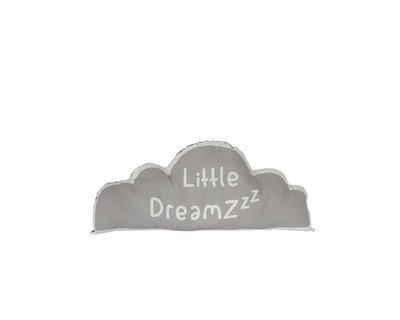 Kussen Wolk Litlle Dreamzzz grijs