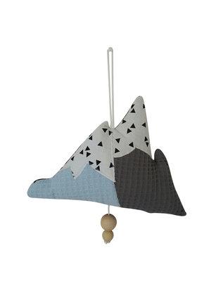 Muziekhanger IJsberg Lichtblauw-grijs