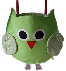 Hippe Boxzak Uil groen