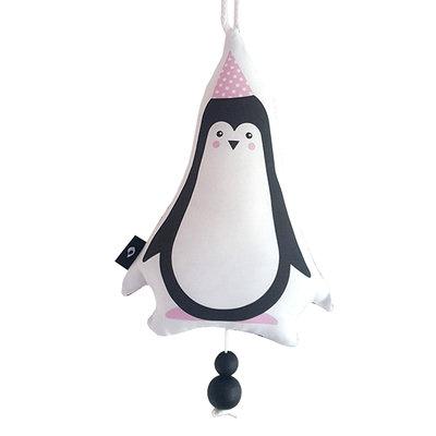 Muziekhanger Feestbeesten Pinguin Roze