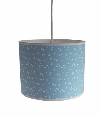 Hanglamp Triangle baby blauw
