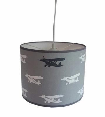 Hanglamp Vliegtuig grijs