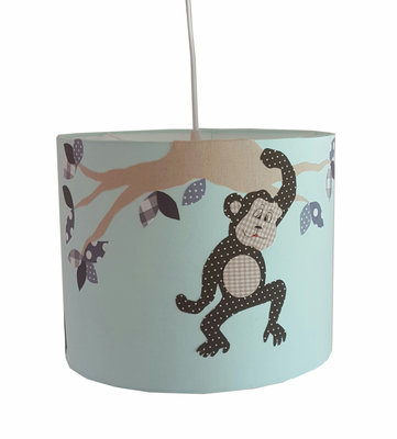 Hanglamp Jungle aapje mint