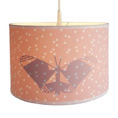 Hanglamp Silhouet Vlinder triangle roze