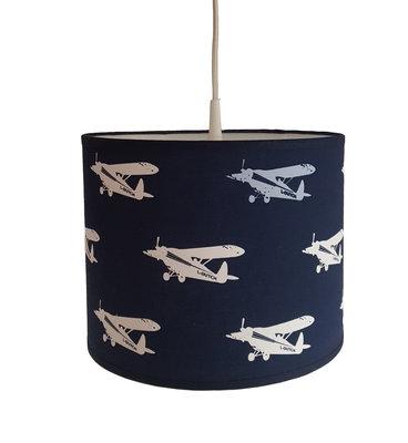 Hanglamp Vliegtuig donkerblauw