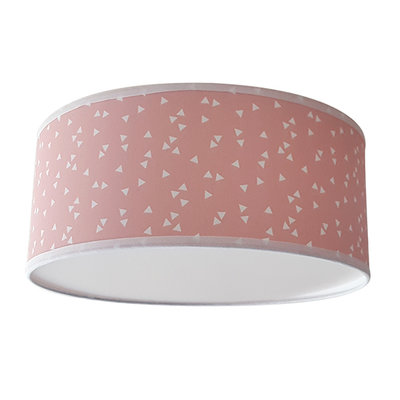 Plafond lamp Triangle roze