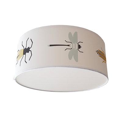 Plafondlamp Insecten