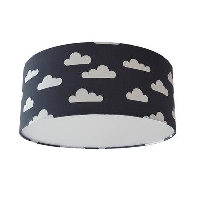 Plafondlamp Wolken antraciet