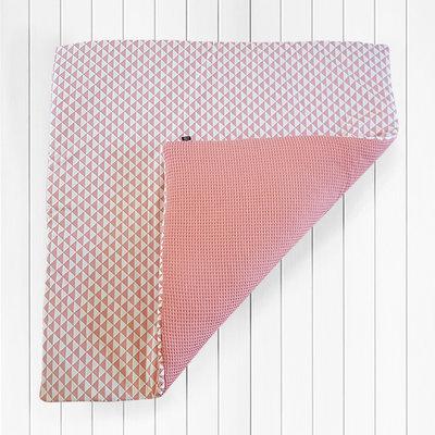 Speelkleed wafelstof dieproze driehoek