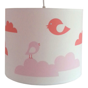 Lamp wolken & Vogels