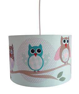 Hippe Hanglamp uil mint