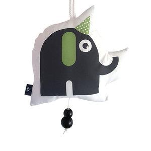 Muziekhanger Feestbeesten Olifant groen
