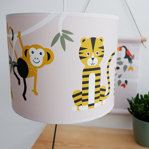 lamp jungle oud roze