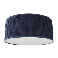 Plafondlamp Wafelstof Jeans blauw