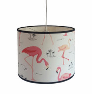 Hanlamp Flamingo canvas