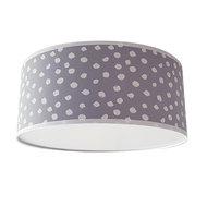 Plafondlamp stip poedergrijs